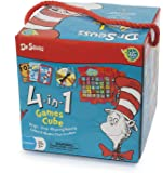 Dr Seuss 4 in 1 Games in a Box Ages 3 + for Little Hands
