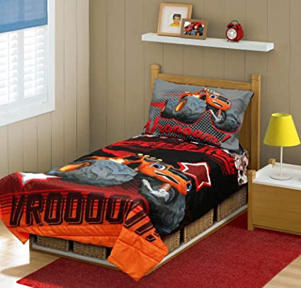 Nickelodeon Blaze and Monster Machines Toddler Bedding Set
