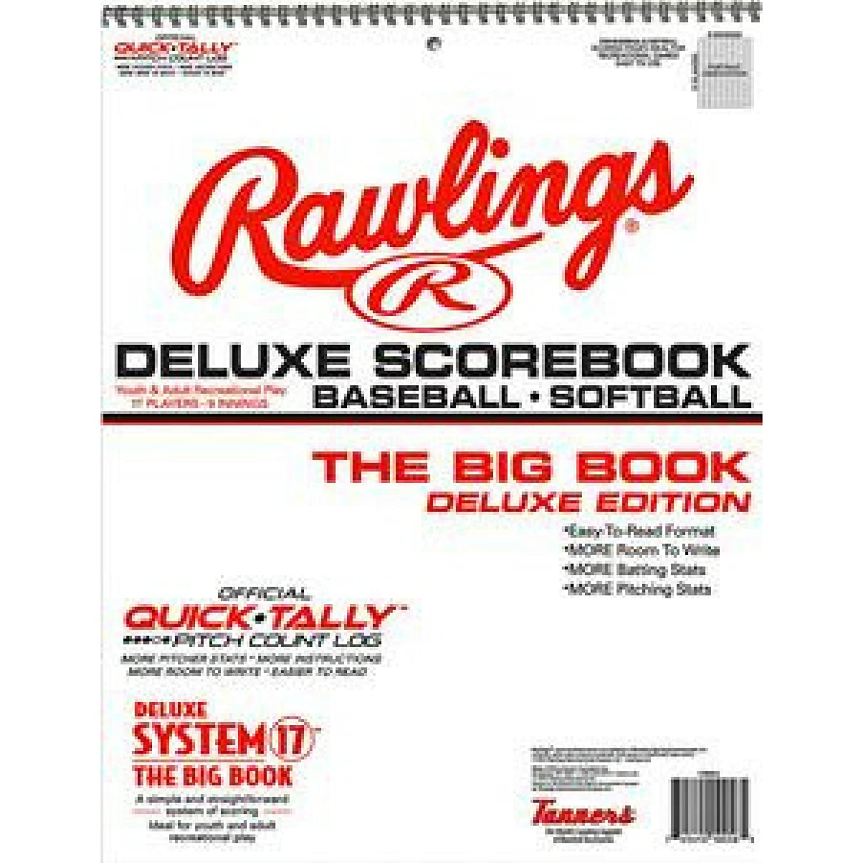 Amazon.com: Gran Béisbol/Sóftbol scorebook incluido con 24 ...