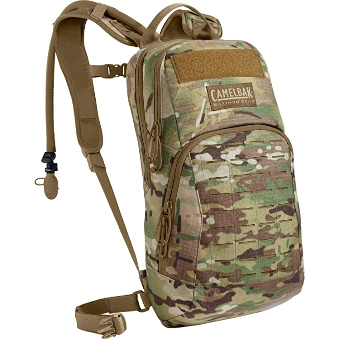 CamelBak: mochila militar con cantimplora, Hombre, 60306-CAP-P, Crye Multicam, talla única: Amazon.es: Ropa y accesorios