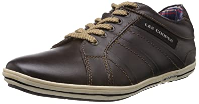Lee Cooper Men s Leather Sneakers  Buy Online at Low Prices in India ... f902781dc2d8