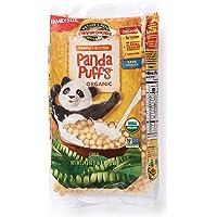 Nature's Path EnviroKidz Peanut Butter Panda Puffs Cereal, Healthy, Organic, Gluten-Free, 24.7 Ounce, Pack of 3