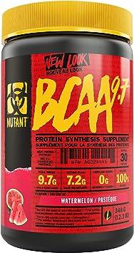 Mutant BCAA 9.7 Suplemento de Síntesis de Proteínas, Sandía 350 g