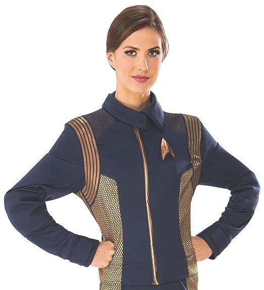 STAR TREK Discovery Operations Uniform Copper Female Adult Costume ...