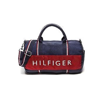 7cefca9819 NEW Genuine TOMMY HILFIGER Mini Duffle Duffel Bag Gym Weekender Carry-On  Handbag: Amazon.co.uk: Sports & Outdoors