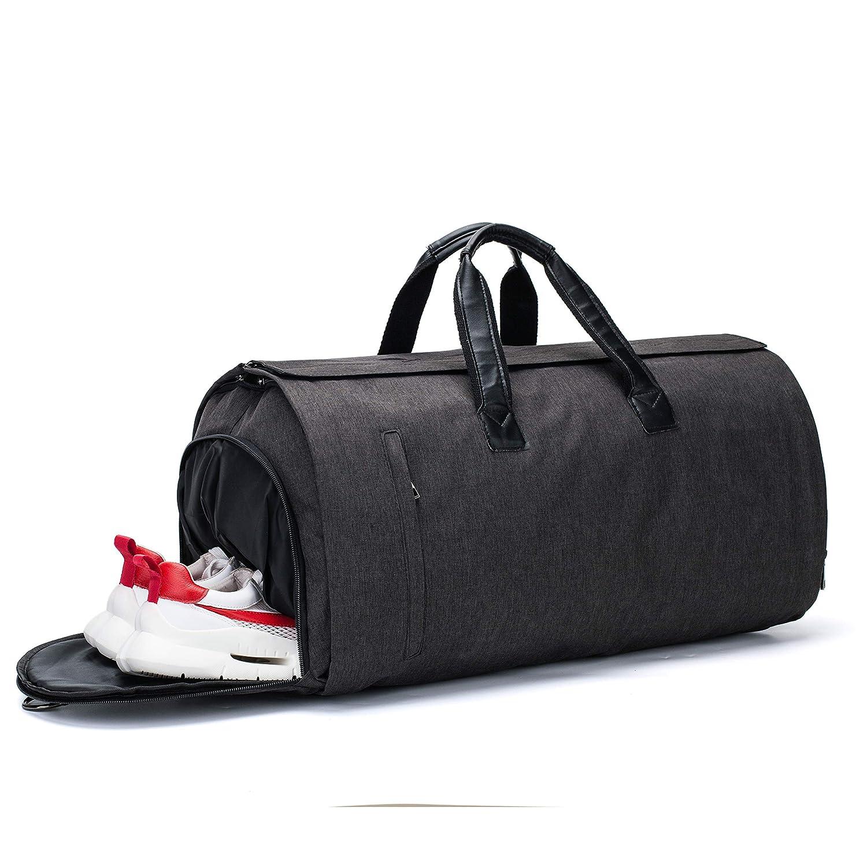 Blue Garment Bag Duffel Luggage Oversized Waterproof,Suit Blazer Bags Carry-Garment Travel Weekend