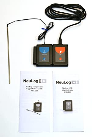USB TEMPERATURE SENSOR - All connection devices included, software