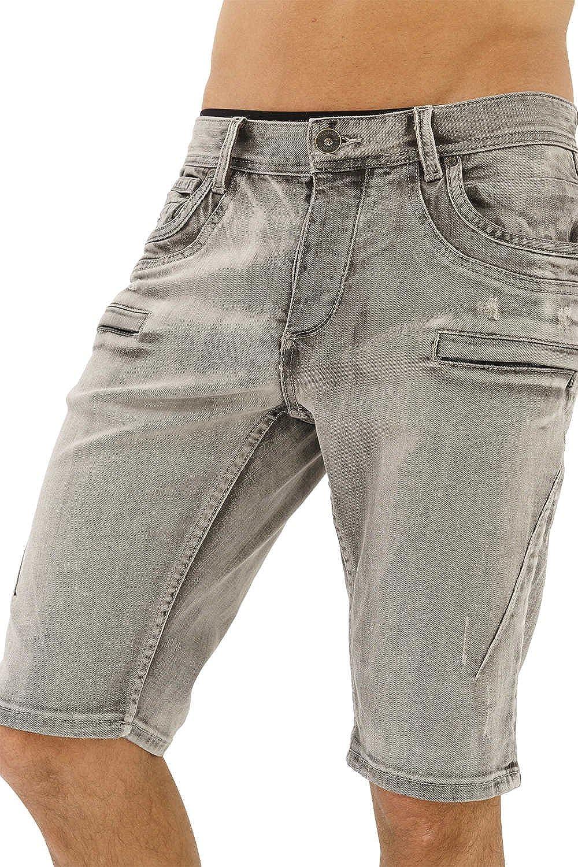 TALLA W 32. trueprodigy Casual Hombre Marca Pantalon Basico Ropa Retro Vintage Rock Vestir Moda Deportivo Slim Fit Designer Cool Urban Fashion Pantalones Cortos