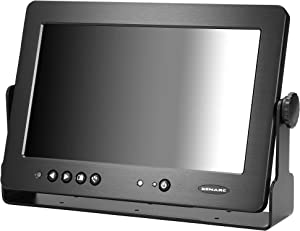 """10.1"""" Rugged Sunlight Readable Resistive 5W Touchscreen Display LCD Monitor with HDMI VGA DVI USB Video Input 1000 NIT 1024x600 Native Resolution, 16x9 Aspect Ratio Contrast Ratio to 500:1-1022TSH"""