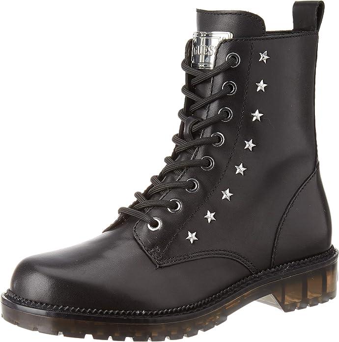 botas militares mujer Guess