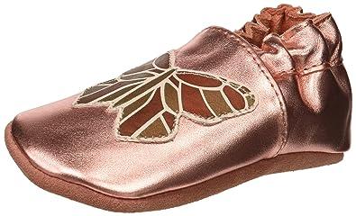 77bc53b0bd8 Robeez Girls  Elephant Eddie Crib Shoe