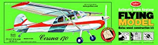 product image for Guillow's Cessna 170 Laser Cut Model Kit