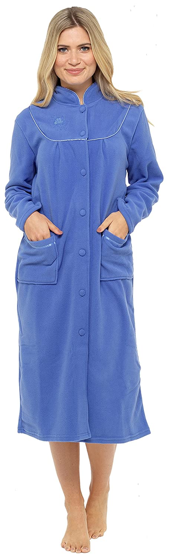 Nightwear Heaven - Bata - para mujer Azul Azul Aciano S: Amazon.es: Ropa y accesorios