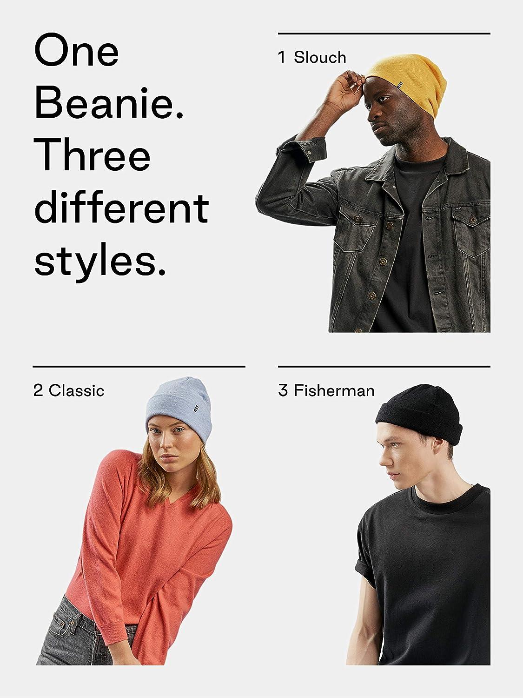 da uomo e da donna Enter the Complex/® Berretto invernale in lana 100/% merino