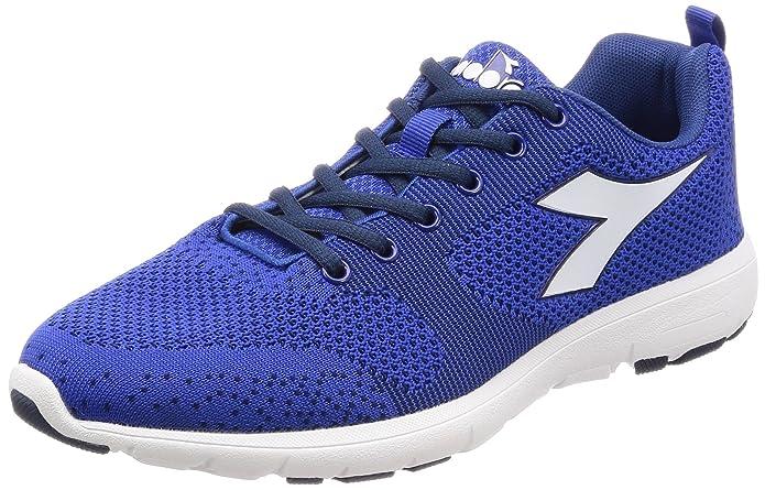 X Run Light, Zapatillas de Running para Hombre, Azul (BLU Classico Rosso Ferrari), 42.5 EU Diadora