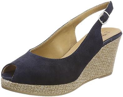 Womens 29303 Wedge Heels Sandals, Beige, 5 UK Tamaris