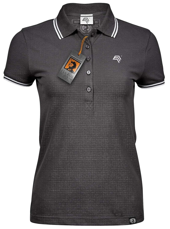Magna Damen T-Shirt Shirt schwarz Oberteil kurzarm Basic Sommer Kurzarmshirt