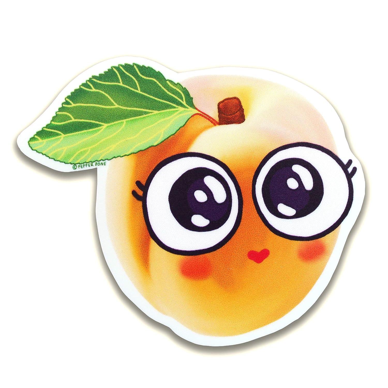 Cute Peach Sticker