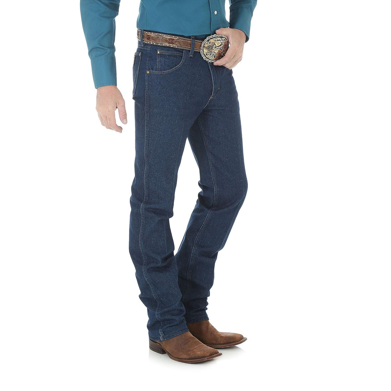 840ffa70 Wrangler Men's Premium Performance Cowboy Cut Slim Fit Jean at Amazon Men's  Clothing store: