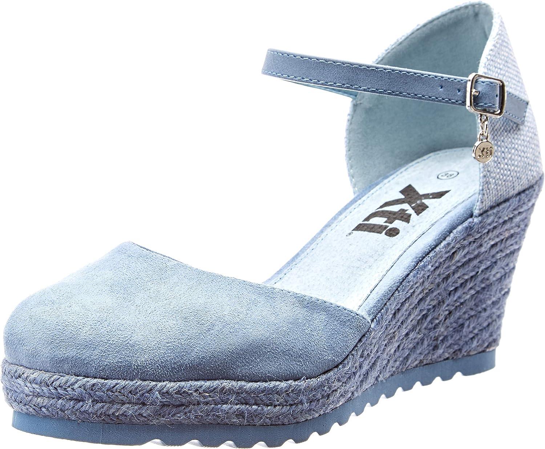 XTI 48941, Sandalias con Plataforma para Mujer