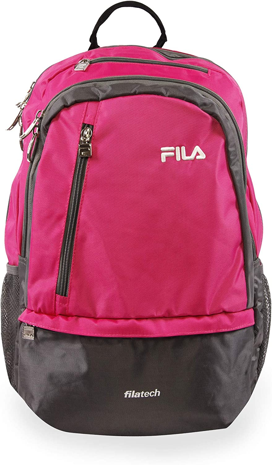 Fila Duel Tablet and Laptop Backpack, Pink, One Size