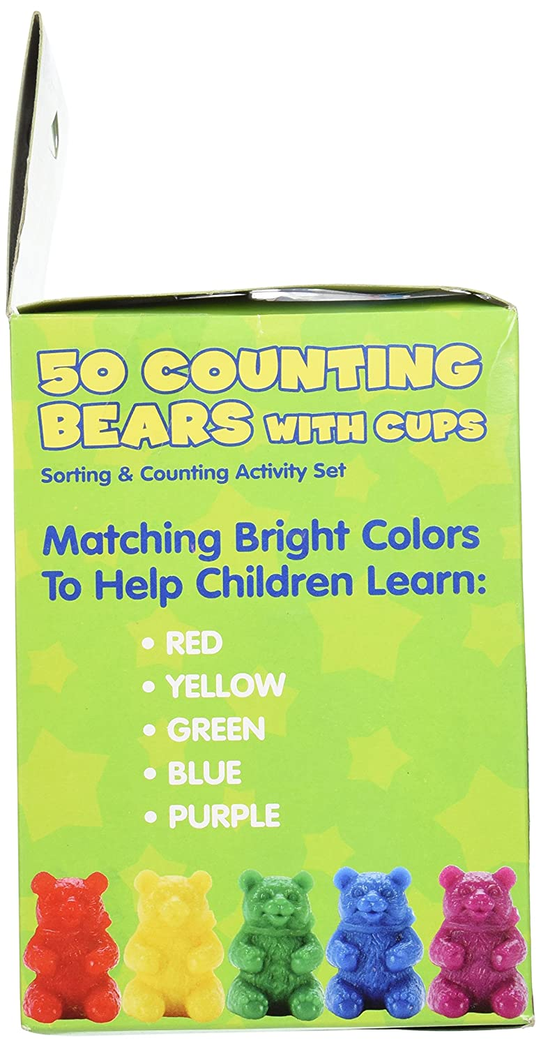 Amazon.com: 50 Counting Bears with 5 Cups: Office Products