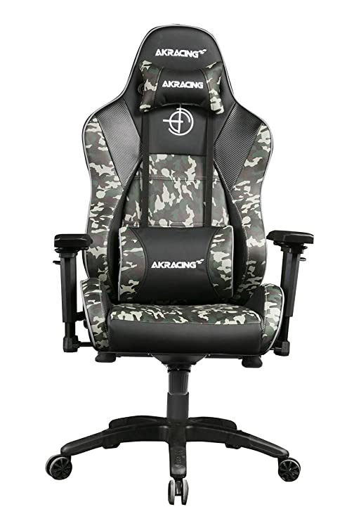 Sensational Akracing Masters Series Premium Gaming Chair With High Backrest Recliner Swivel Tilt 4D Armrests Rocker And Seat Height Adjustment Mechanisms Gmtry Best Dining Table And Chair Ideas Images Gmtryco