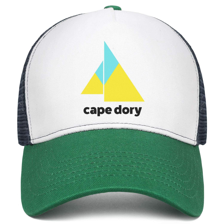Young Women Men Baseball Cap Relaxed Messy Cape-Dory-Yachts-Logo Adjustable Mesh Back Trucker Cap Sun Hat