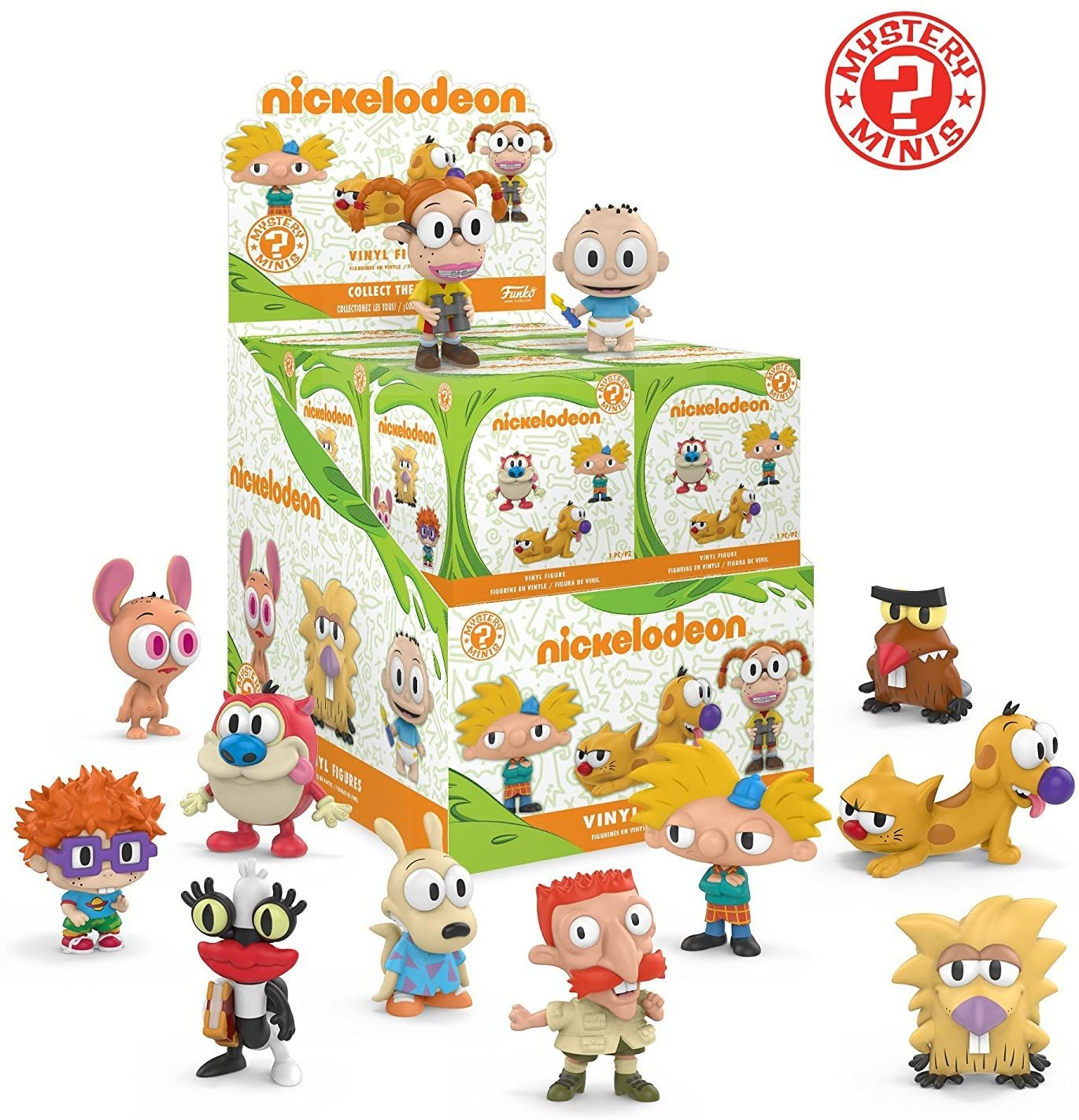 Funko Mystery Minis: Nickelodeon Cartoon Characters Mini Toy Action Figure - 2 PACK BUNDLE: Amazon.es: Juguetes y juegos