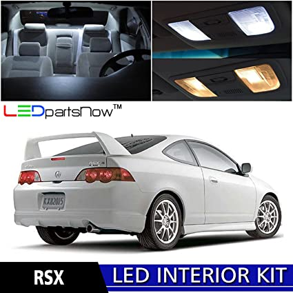 Amazoncom LEDpartsNow Acura RSX LED Interior Lights - Acura rsx accessories