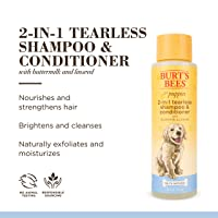 Burt's Bees for Puppies Tearless 2 in 1 Shampoo and Conditioner  | Dog Shampoo and...