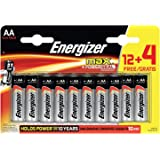 Energizer AA Batteries, Max Double A Batteries, 16 Pack