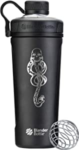 BlenderBottle C03459 Radian Stainless Steel shaker bottle, 26-Ounce, Dark Mark