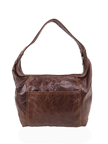 67669b9042ef Amazon.com  Fgalaze Distressed Leather Hobo Bag