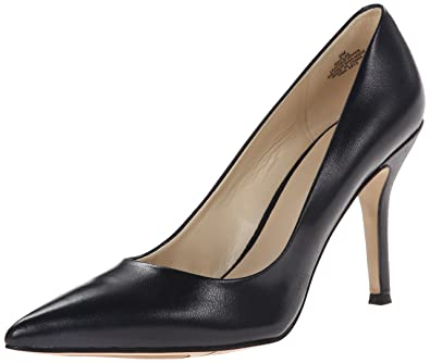 Nine West Women's Flax Synthetic Dress Pump, Navy, ...