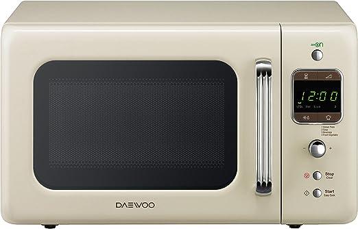 Daewoo KOR-6LBC - Microondas 20 litros digital sin grill, 800 W ...