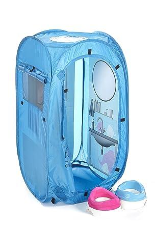 PETIT En SUITE® Childrenu0027s Pop-up Portable Toilet Tent Fun Alternative To Boring Training  sc 1 st  Amazon UK & PETIT En SUITE® Childrenu0027s Pop-up Portable Toilet Tent Fun ...