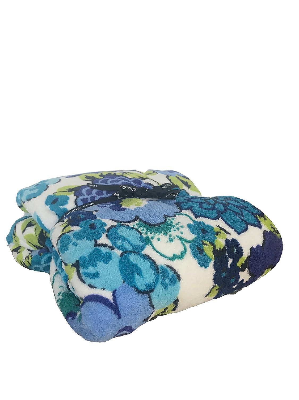 c609851eff6a Amazon.com  Vera Bradley Throw Blanket (Blueberry Blooms)  Home   Kitchen
