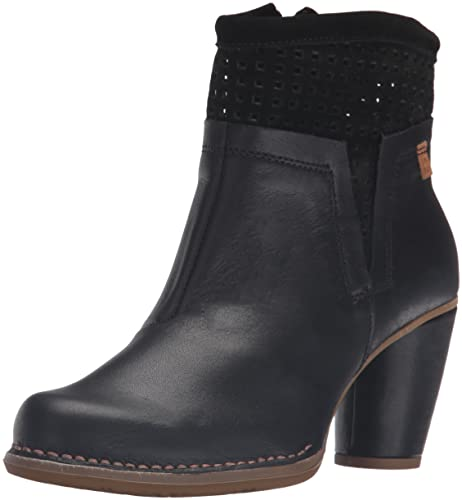 El Naturalista N495 Ibon-Lux Suede Colibri, Botines para Mujer, Negro (Black), 41 EU: Amazon.es: Zapatos y complementos
