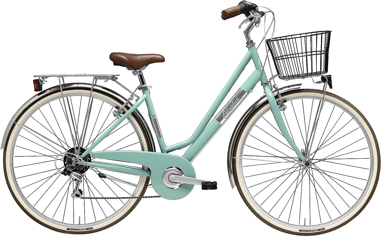 Bicicleta Adriatica Paseo Bike Bycicle citybike Vintage Panarea Rojo