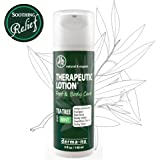 Tea Tree Oil Therapeutic Lotion – Antifungal & Anti Itch Cream for Feet and Body. Protect, Defend & Soothe Irritated Skin, Athletes Foot, Toe Fungus, Body Acne, Ringworm & More