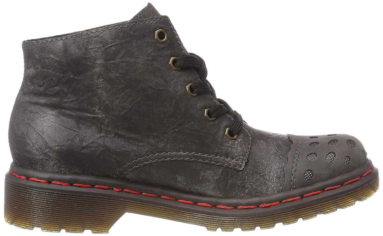 Rieker Women Ankle Boots Grey, (fumoAltsilberAntra) M8243 46