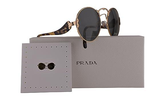 0e4c2ccf12d4 ... greece amazon prada authentic sunglasses pr55ts antique gold w grey  lens 7oe9k1 spr55t 57mm clothing 0df14