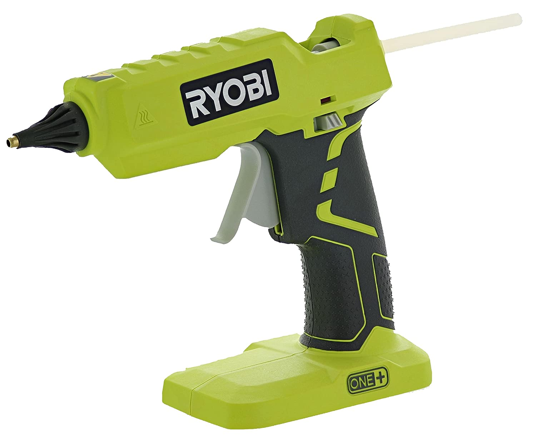 Ryobi P305 One+ 18V Lithium Ion Cordless Hot Glue Gun w/ 3 Multipurpose Glue Sticks (Battery Not Included / Power Tool Only) Ryobi Corporation