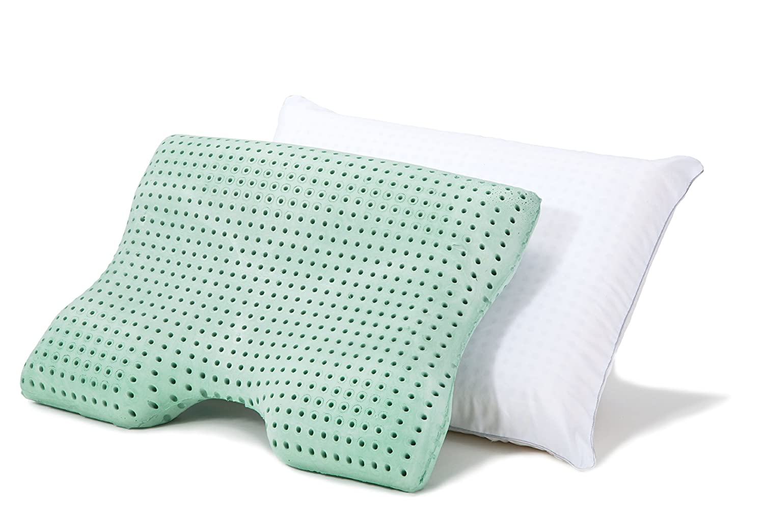 Amazoncom SleepJoy ViscoFresh Advanced Contour Memory Foam Pillow