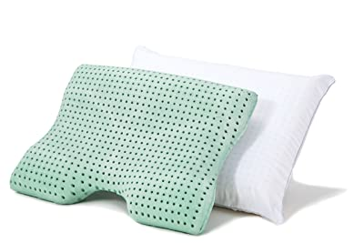 Sleep Joy ViscoFresh Memory Foam Pillow with Green Tea