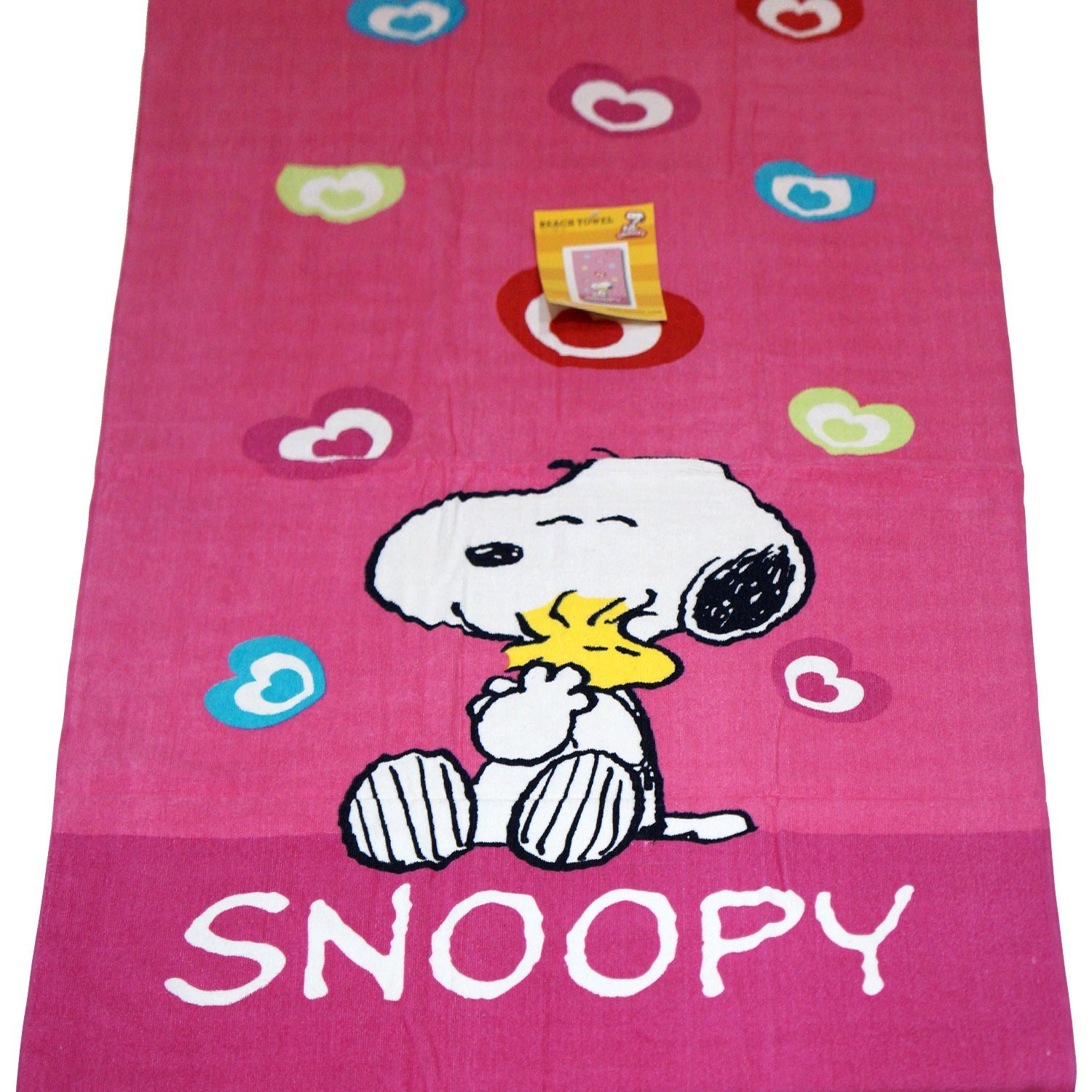 Kid s Boys Girls regalo - Baño y playa piscina - Toalla, diseño de Snoopy: Amazon.es: Hogar