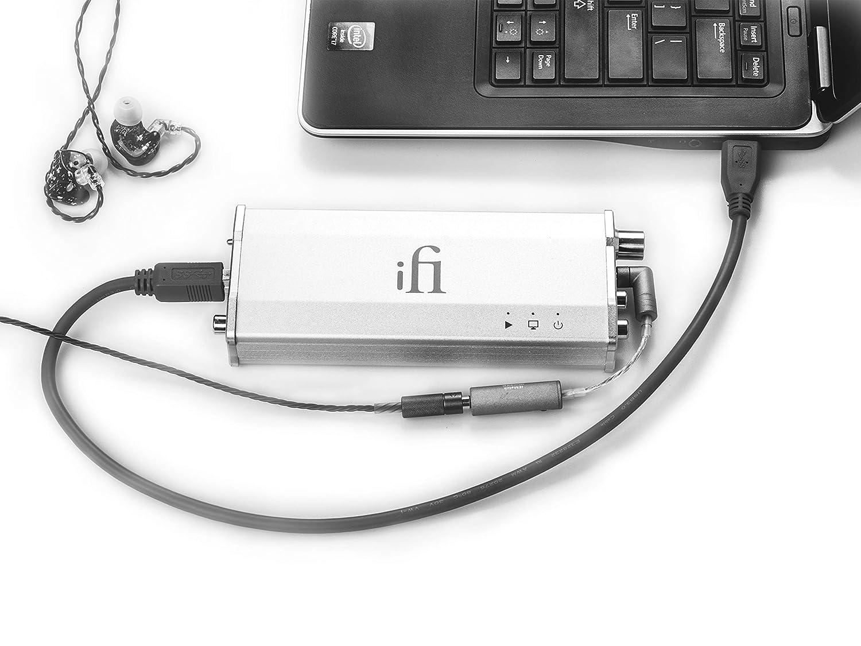 HiFi High Resolution Desktop Home Audio Headphone Amp SPDIF Optical Coaxial RCA Output iFi Micro iDAC2 DSD DAC Digital Analogue Converter with USB Input MQA Compatible