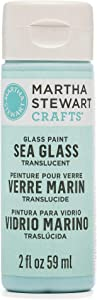 Martha Stewart Crafts Translucent Sea Glass Paint, in Assorted Colors (2 Ounces), Sea Lavender