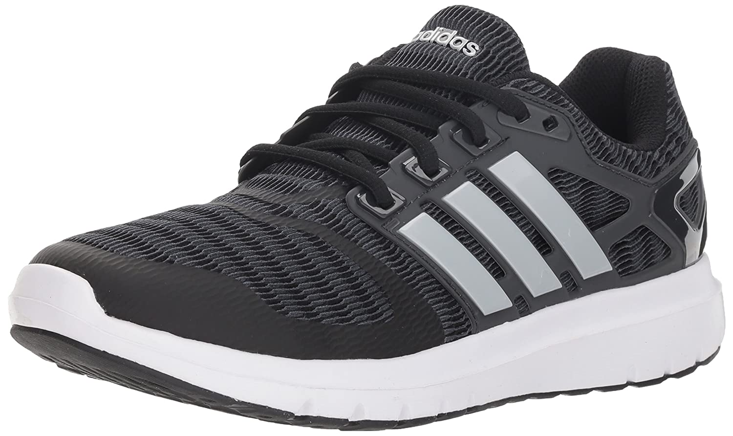 adidas Women's Energy Cloud V Running Shoe B077XHXSWC 10 M US|Black/Matte Silver/Carbon
